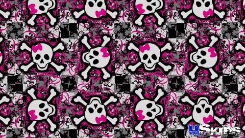 gallery for girly skull backgrounds
