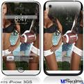 iPhone 3GS Skin - Whitney Jene Football and Lace